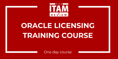 2019 UK Oracle Licensing Training Course, Twickenham