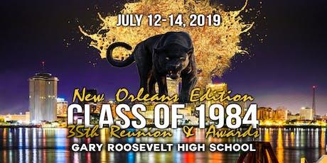 Gary Roosevelt High School Class of 1984 35th Reunion tickets