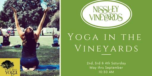Yoga in the Vineyards - June 22, 2019