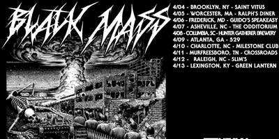 BLACK MASS w/ special guests at The Milestone on Wednesday, April 10th 2019