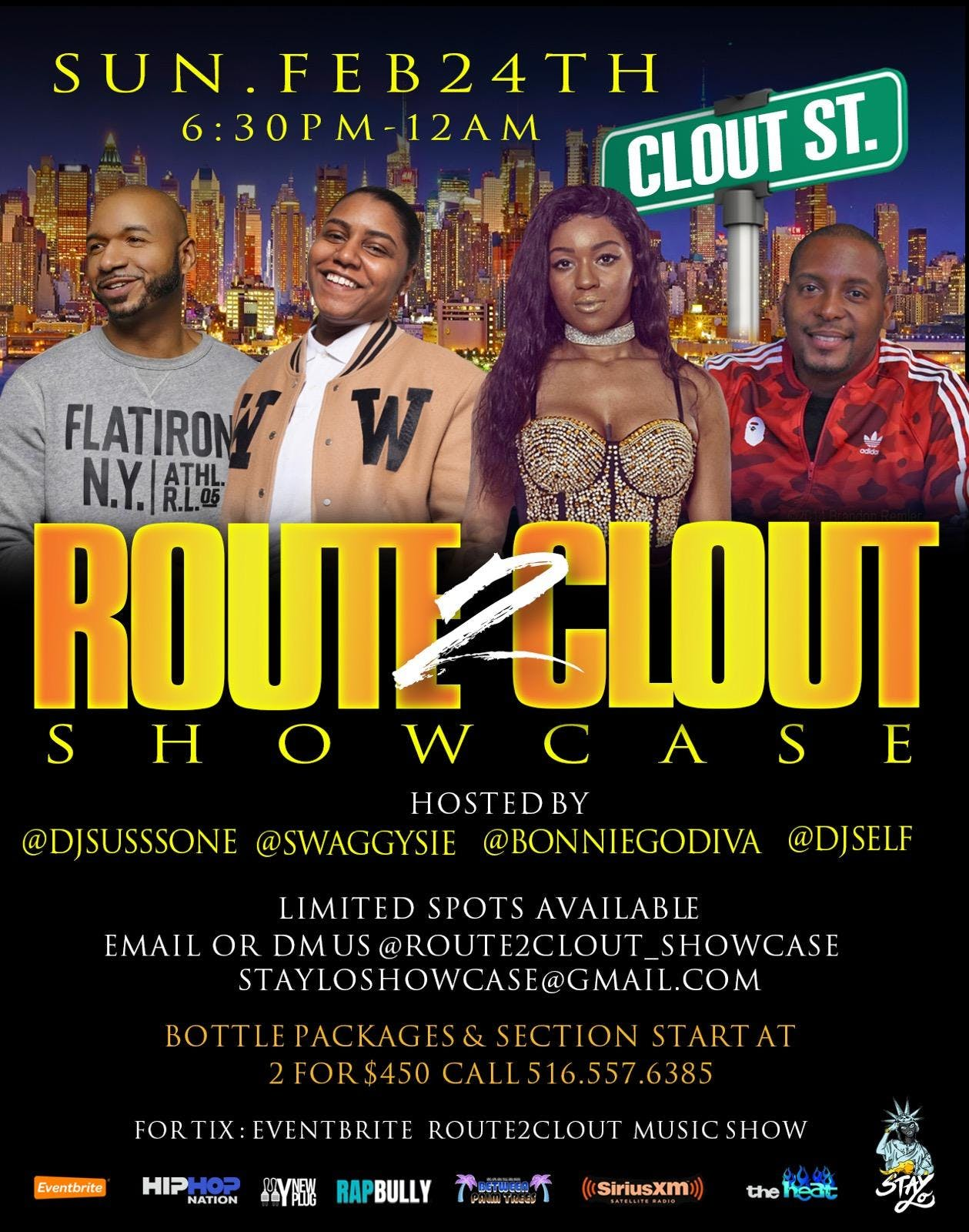 ROUTE2CLOUT MUSIC SHOW
