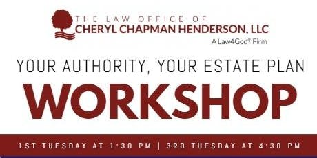 Your Authority, Your Estate Plan Workshop tickets