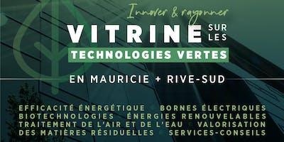 Vitrine sur les technologies vertes Mauricie + Rive-Sud