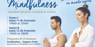 Curso Mindfulness - Equilibrio Emocional & Redução de Estresse