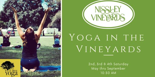 Yoga in the Vineyards - August 24, 2019