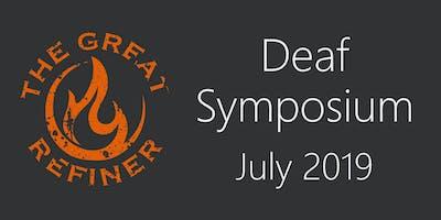 2019 Deaf Symposium
