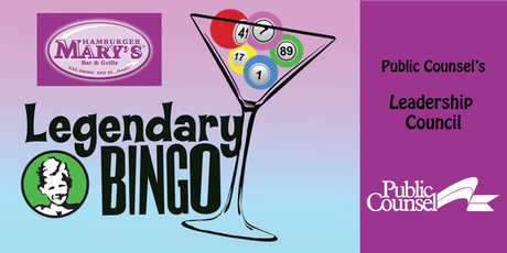 Public Counsel's Leadership Council Presents 2019 LEGENDARY BINGO NIGHT tickets