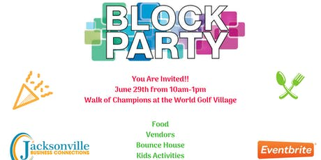 Block Party Community Event tickets