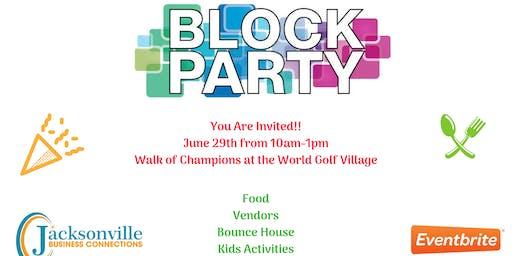 Block Party Community Event