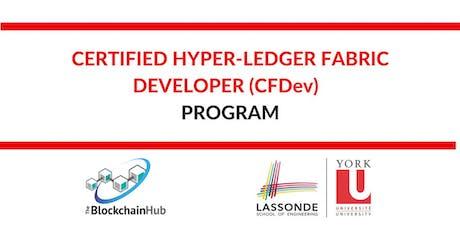 Certified Hyper-Ledger Fabric Developer (CFDev) Program tickets