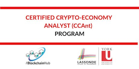 Certified Crypto-Economy Analyst (CCAnt) Program billets