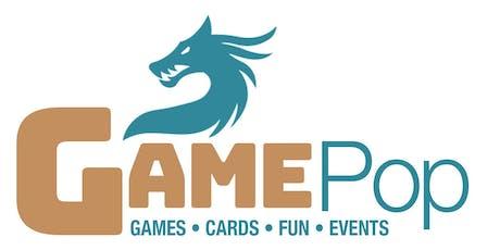 GAME POP tickets