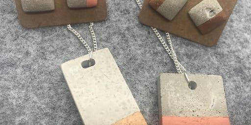 Concrete Jewellery Workshop