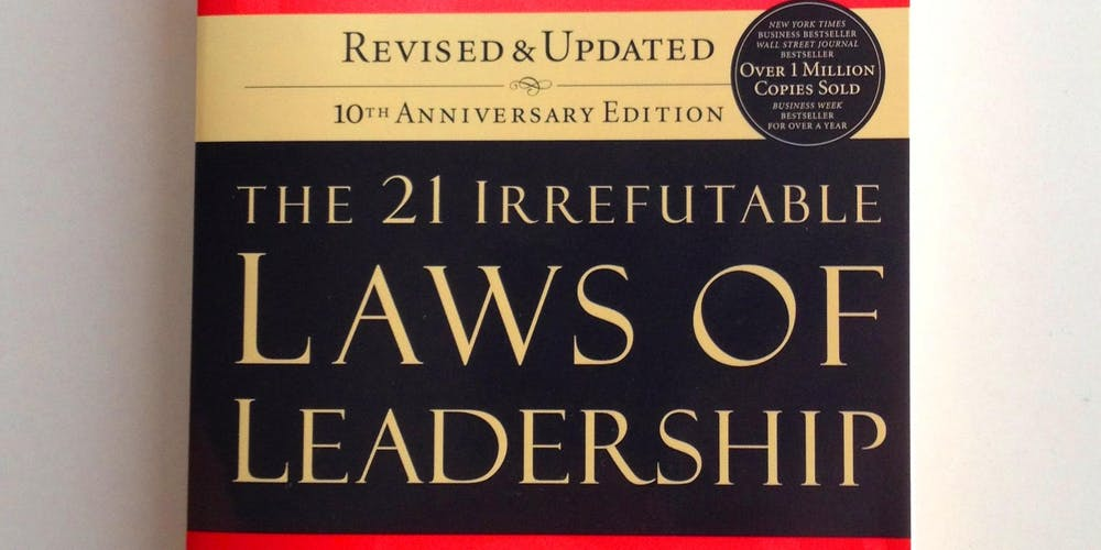 Learn The Laws Of Leadership Become A Influential Leader Tickets