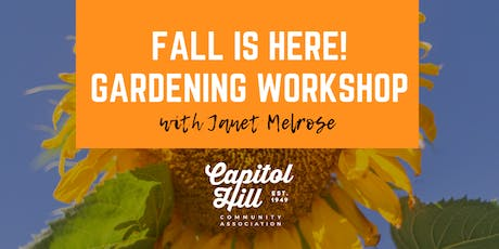 Fall is Here Gardening Workshop tickets