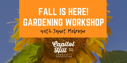 Fall is Here Gardening Workshop