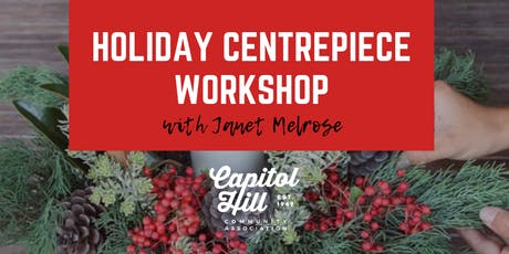 Holiday Centrepiece Workshop tickets