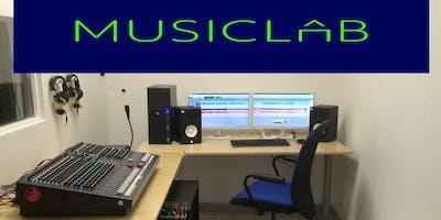 MUSICLAB&Recording: Abilitazione per utilizzo Sala di ripresa e Studio A