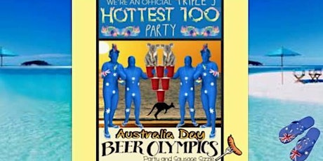 SATURDAY 1/26/20: Australia Day San Francisco Official Beer Olympics Hottest 100 Party tickets