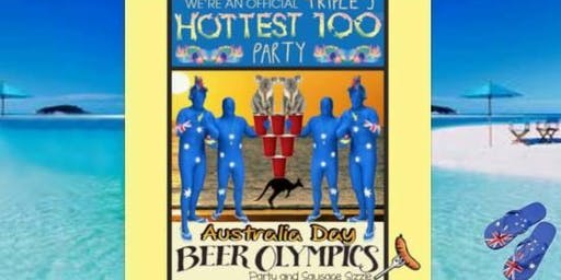 SATURDAY 1/26/20: Australia Day San Francisco Official Beer Olympics Hottest 100 Party