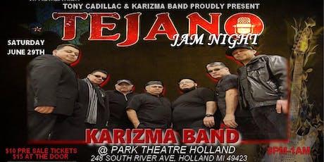 Tejano Night with Karizma Band @ Park Theatre tickets
