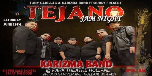 Tejano Night with Karizma Band @ Park Theatre