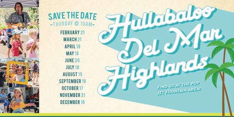 Hullabaloo in Del Mar! tickets