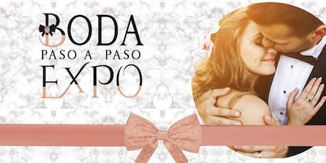 Boda Paso a Paso  Expo 8 Sep19 entradas