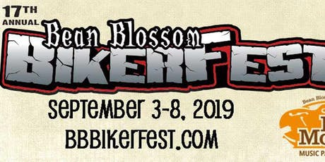 17th annual Bean Blossom BikerFest 2019 tickets