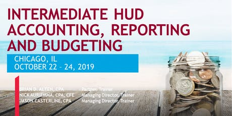 INTERMEDIATE HUD ACCOUNTING, REPORTING & BUDGETING  tickets