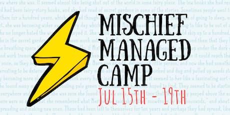 Summer Camp: Mischief Managed tickets