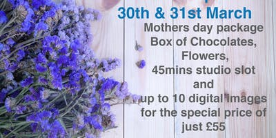 MOTHER'S DAY WEEKEND PHOTOSHOOT SPECIAL - PLYMOUTH