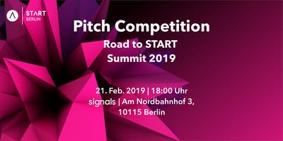 Road to START Summit 2019 - Pitch Competition