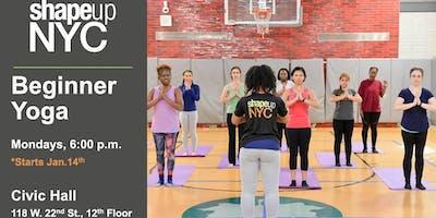 Civic Hall Presents: #MindfulMondays - Yoga with ShapeUp NYC