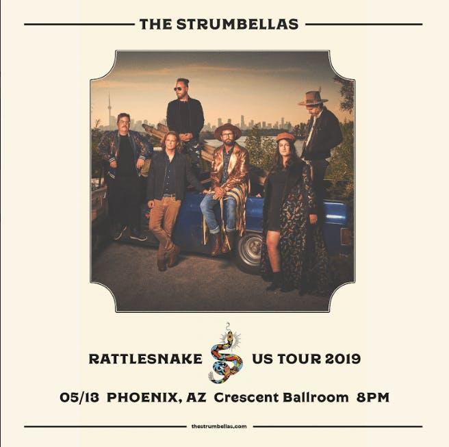 The Strumbellas – Rattlesnake US Tour 2019
