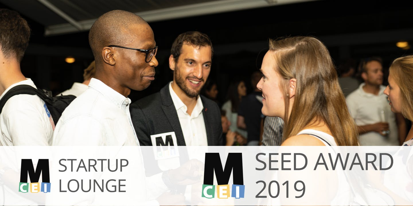 Startup Lounge #60 - MCEI Seed Award 2019 Finals