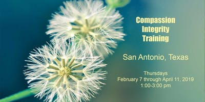 Compassion Integrity Training: 10 week Class