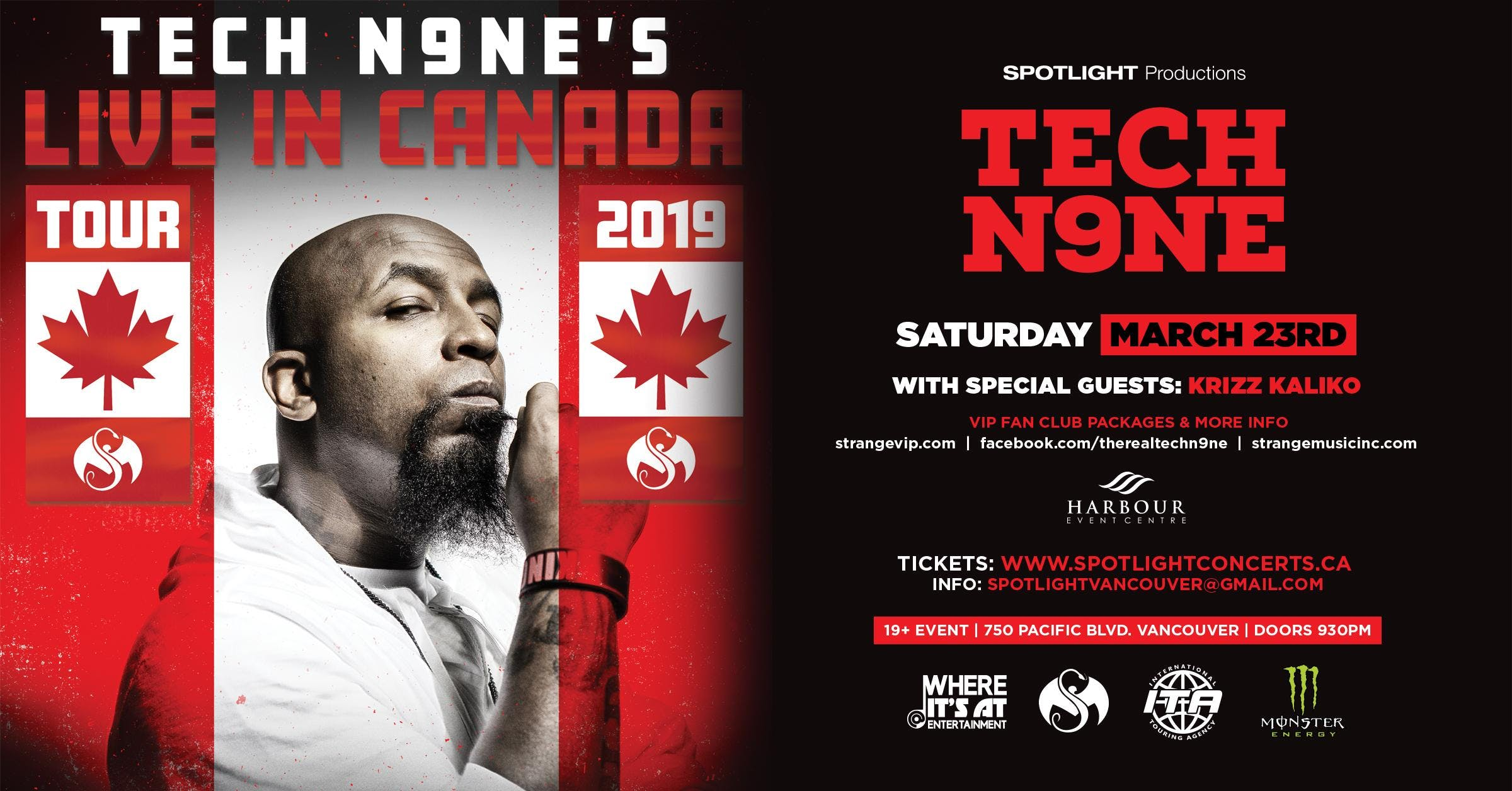 Tech N9ne live in concert - Vancouver