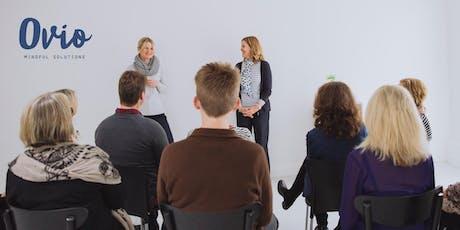 Ovio Mindfulness Beginners Workshop.- Wellington Nov 8th tickets