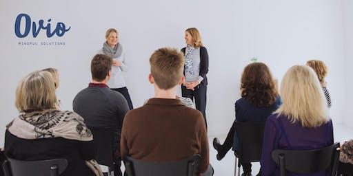 Ovio Mindfulness Beginners Workshop.- Wellington Nov 8th