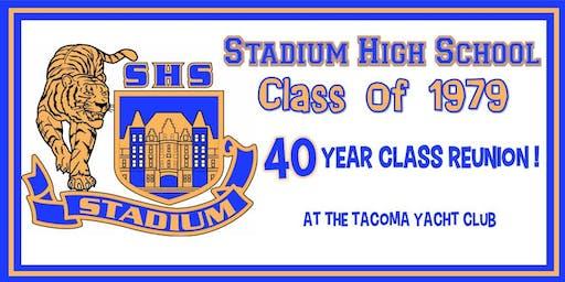 Stadium High School Class of 1979 - 40 Year Reunion