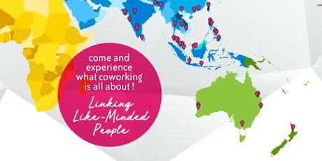 """Try coworking"" Day at Canvas Coworking Space - Free for a day! tickets"