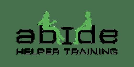 Abide Helper Training