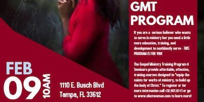 Gospel Ministry Training (GMT) Program & Seminar Series