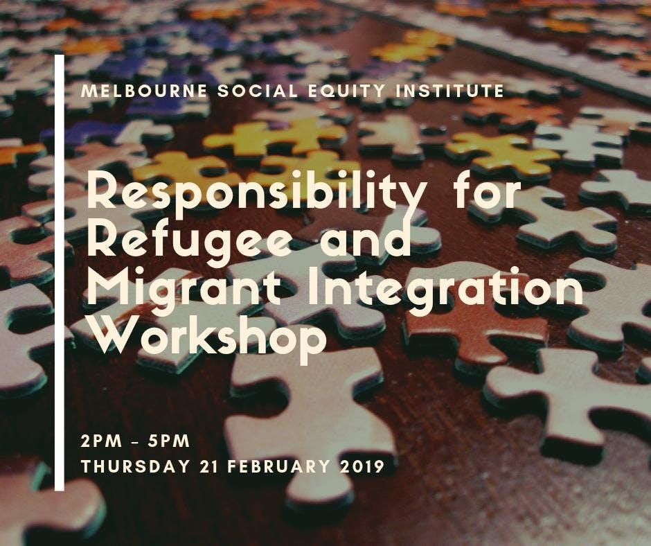 Workshop: Responsibility for Refugee and Migr