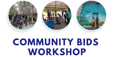 Community Bids 19/20 Workshop