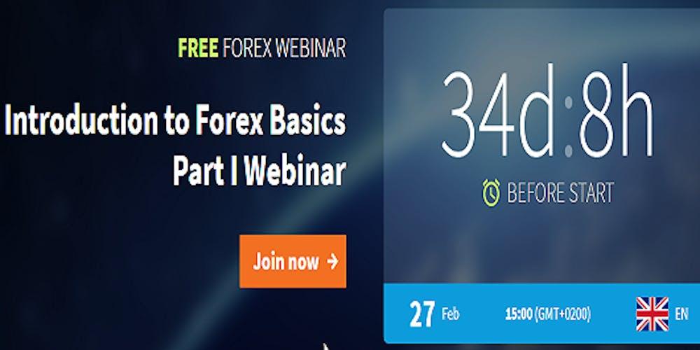 Fxtm Free Forex Webinar Introduction To Basics Part I