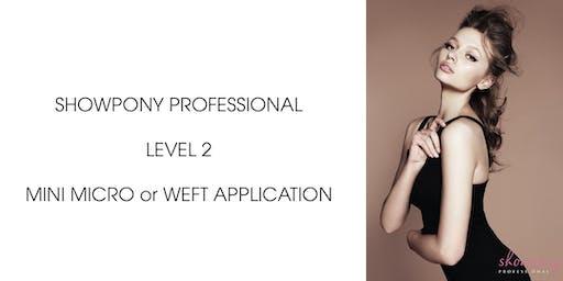 Showpony Education - Weft or Mini Micro Bead Application NSW