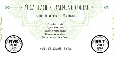 Sept 2019: 18 Day 200 Hour Hatha & Vinyasa Yoga Teacher Training Koh Phangan
