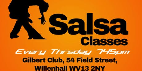 Wolverhampton Thursday Salsa Classes tickets